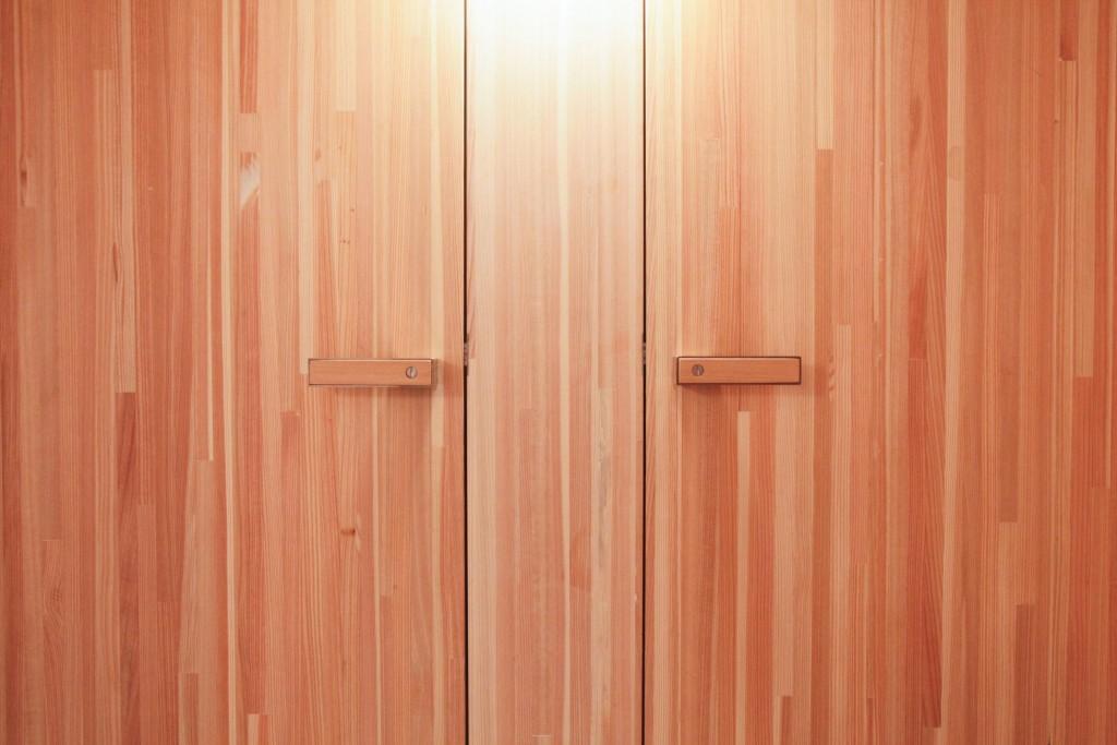 Türen in Lärchenholz
