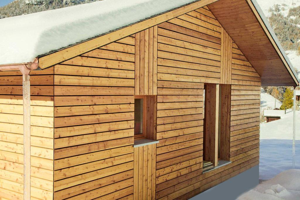 Moderne, optisch sehr leicht wirkende Dachkonstruktion ohne Balken