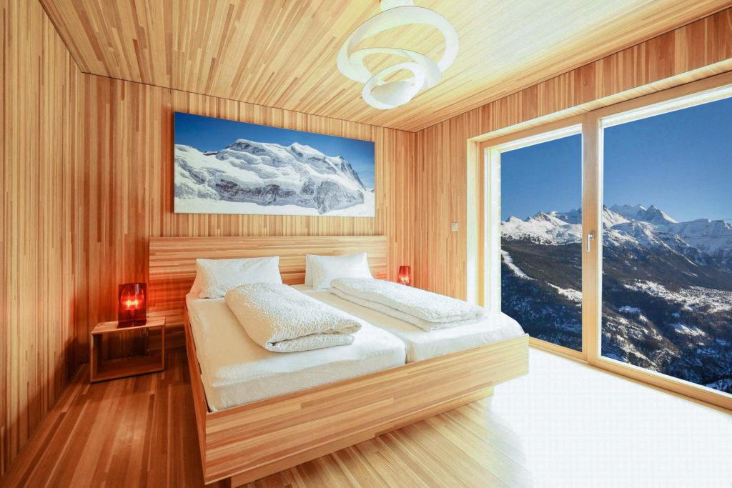Schlafzimmer ROT